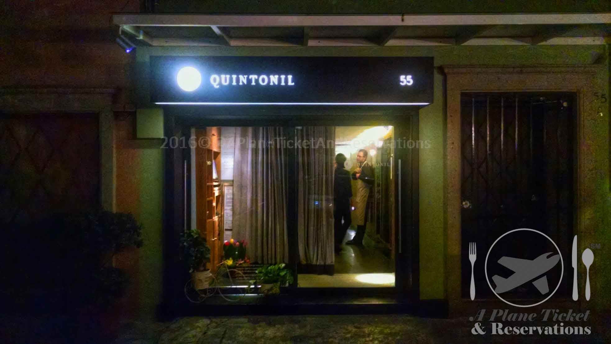 Quintonil Mexico City