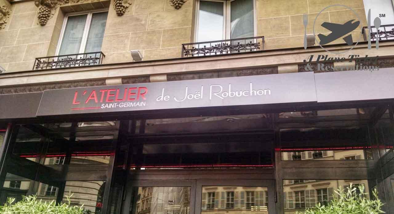 L 39 atelier de joel robuchon french cuisine a plane for L atelier cuisine
