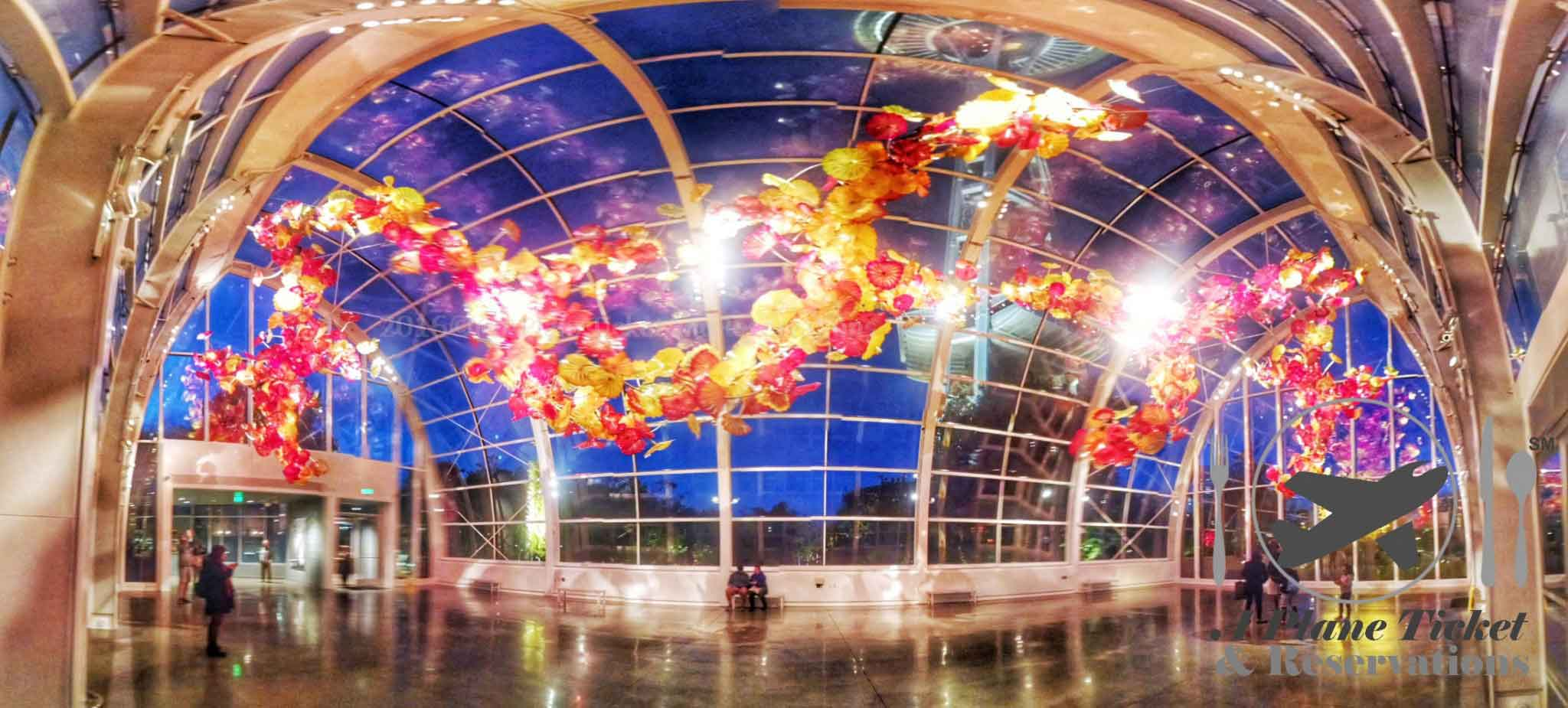 Chihuly Garden And Glass Seattle 39 S Alice In Wonderland A Plane Ticket Reservations