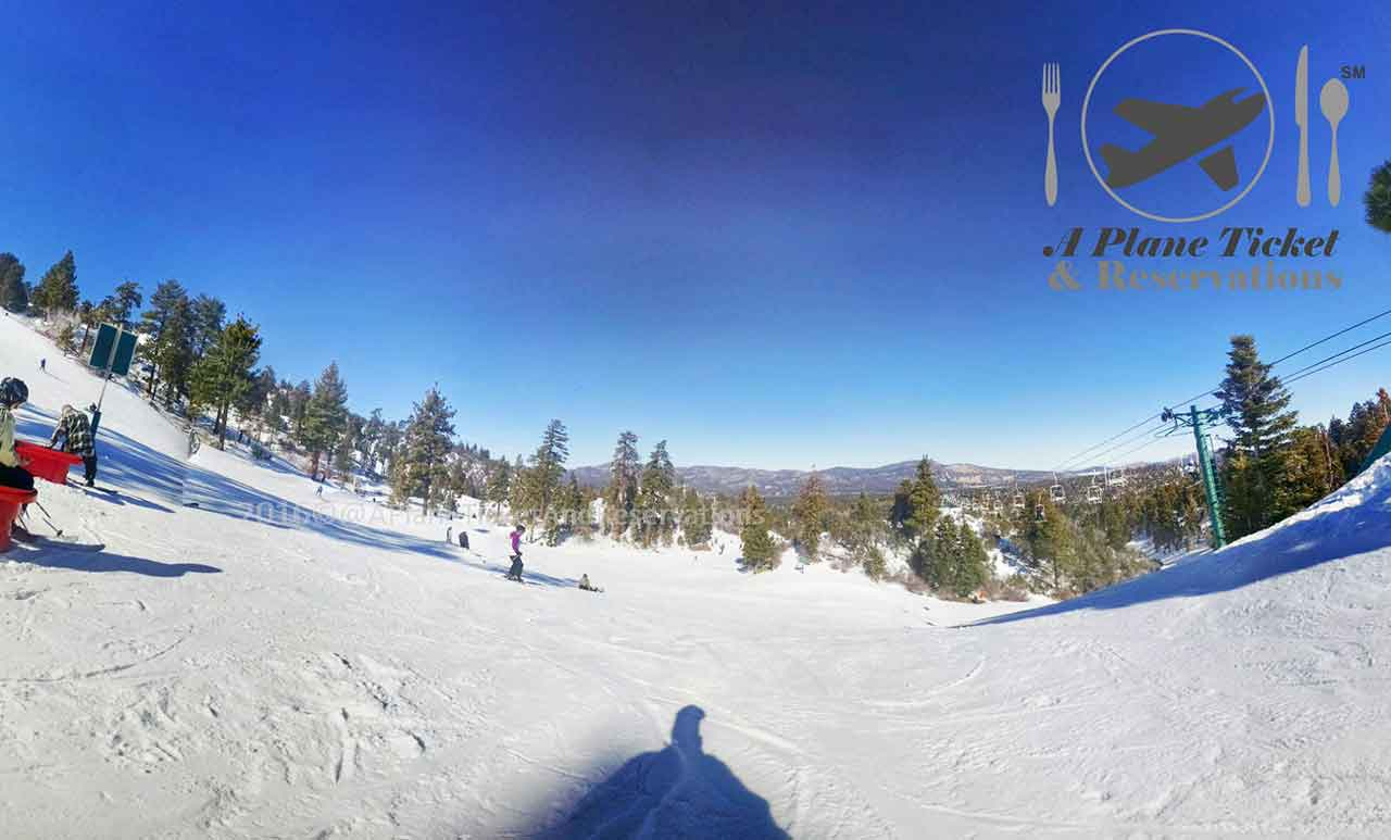 The top of Big Bear Mountain